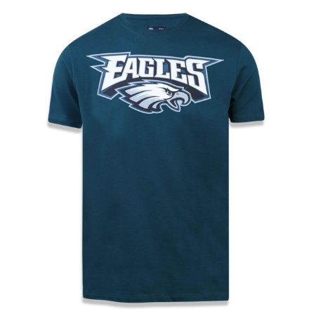 Camiseta Philadelphia Eagles Basic Verde - New Era