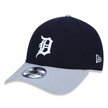 Boné New Era Detroit Tigers 940 Team Color Aba Curva Cinza