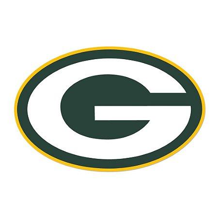 Adesivo Green Bay Packers NFL - Vinil Brilho 15x10cm