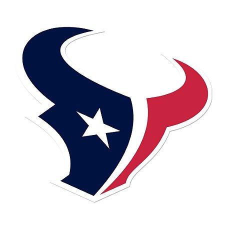 Adesivo Houston Texans NFL - Vinil Brilho 15x15cm