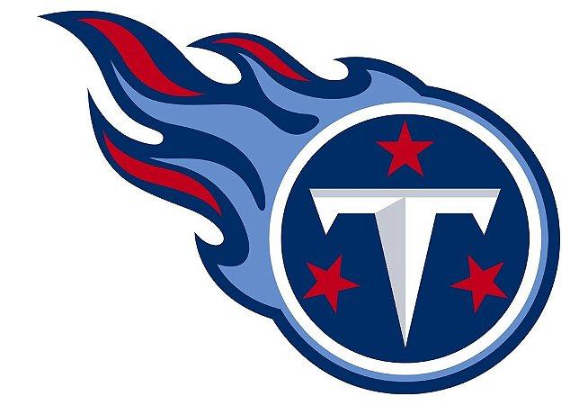 Adesivo Tennessee Titans NFL - Vinil Brilho 15x11cm