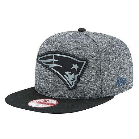 Boné New England Patriots 950 Snapback Gray Collection - New Era