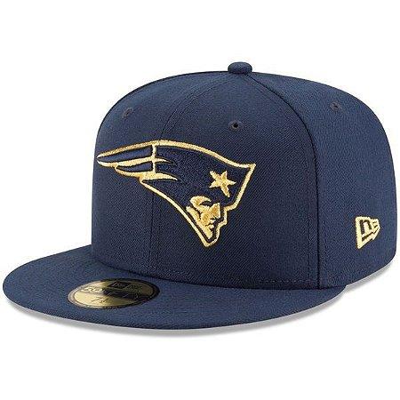 Boné New England Patriots 5950 Golden Logo - New Era