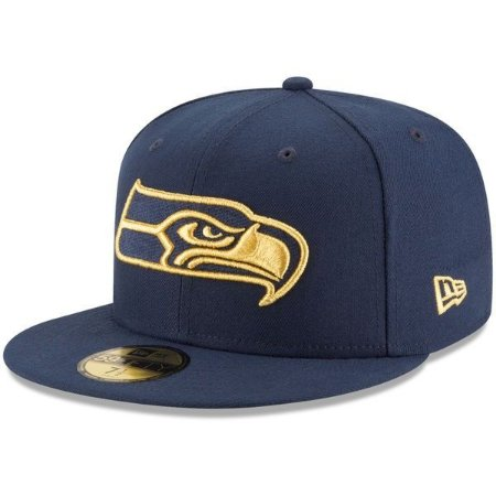 Boné Seattle Seahawks 5950 Golden Logo - New Era