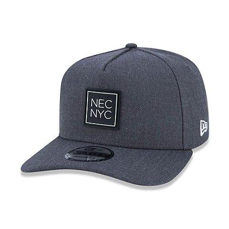 Boné New Era 940 A-Frame SN Veranito NYC Cinza Aba Curva