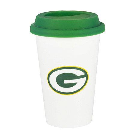 Copo de Café em Cerâmica Green Bay Packers - NFL