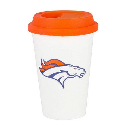 Copo de Café em Cerâmica Denver Broncos - NFL