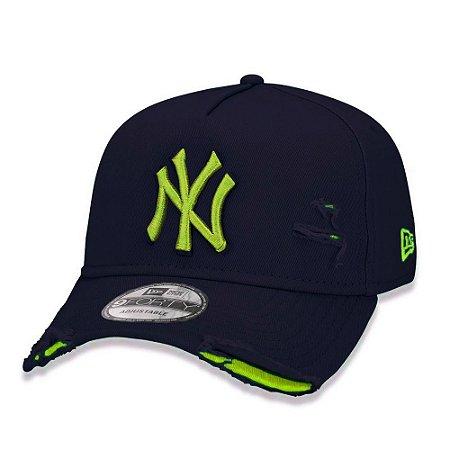 Boné New Era New York Yankees 940 Damage Destroyed Marinho