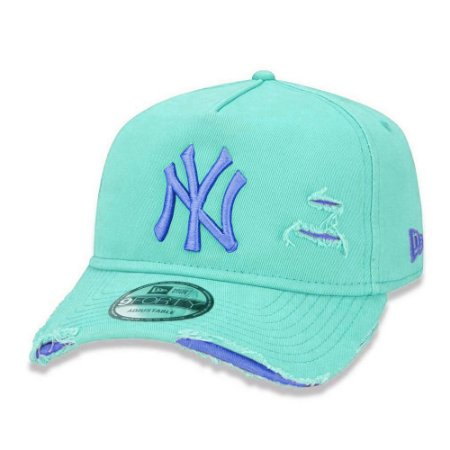 Boné New Era New York Yankees 940 Damage Destroyed Verde