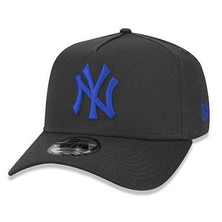Boné New Era New York Yankees 940 AF Veranito Chumbo e  Azul