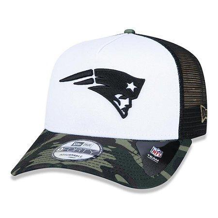 Boné New Era New England Patriots 940 A-Frame Military Full