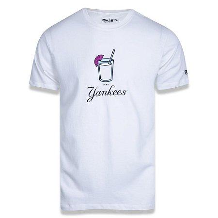 Camiseta New Era New York Yankees Summer Time Drink MLB