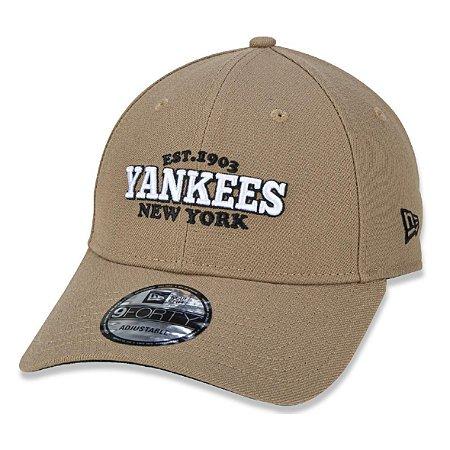 Boné New Era New York Yankees 940 College Est.1903 Aba Curva