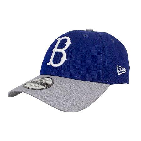 Boné New Era Brooklyn Dodgers MLB 940 Team Color Aba Curva