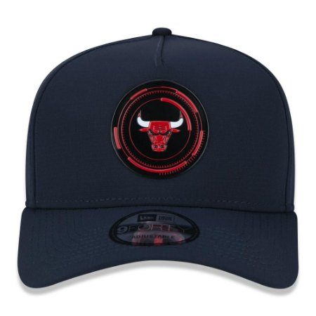 Boné New Era Chicago Bulls 940 A-Frame Tech Power Aba Curva