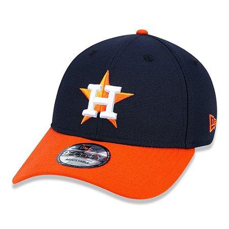 Boné New Era Houston Astros 940 Team Color aba curva marinho
