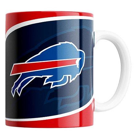 Caneca NFL Buffalo Bills de Porcelana 325ml