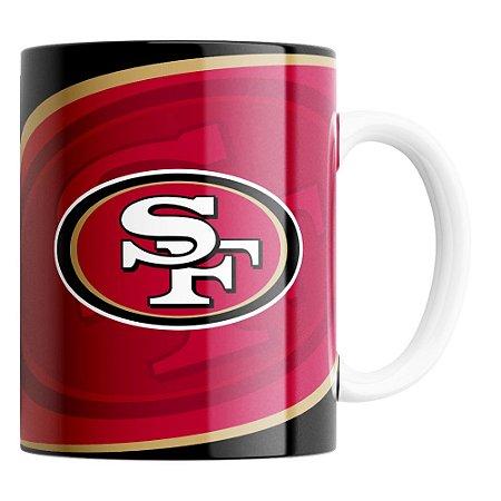 Caneca NFL San Francisco 49ers de Porcelana 325ml