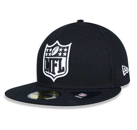 Boné Logo NFL 5950 - Preto New Era