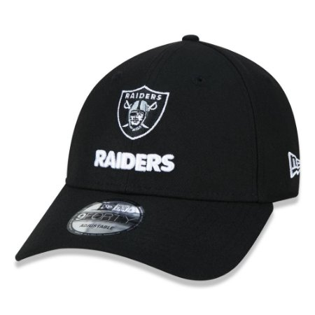 Boné New Era Las Vegas Raiders 940 Military Aba Curva Preto
