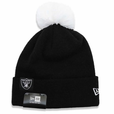 Gorro Touca Oakland Raiders Team Wolven - New Era