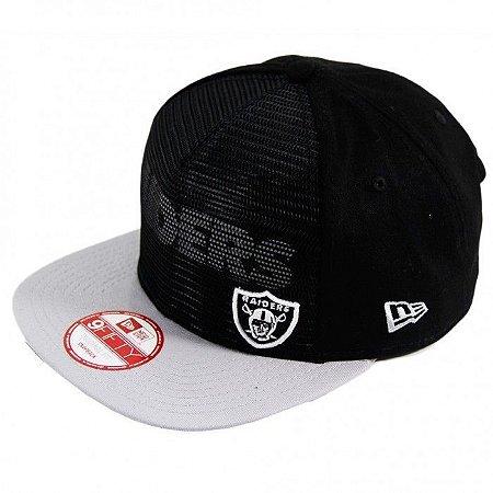 Boné Oakland Raiders 950 Snapback Tela - New Era