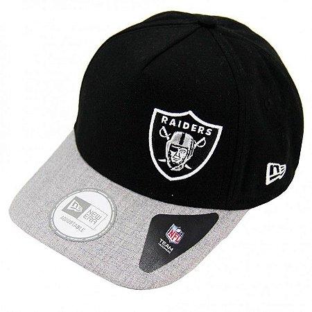 Boné Oakland Raiders 940 Snapback Aba curva - New Era
