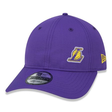 Boné New Era Los Angeles Lakers 920 The City Aba Curva Roxo