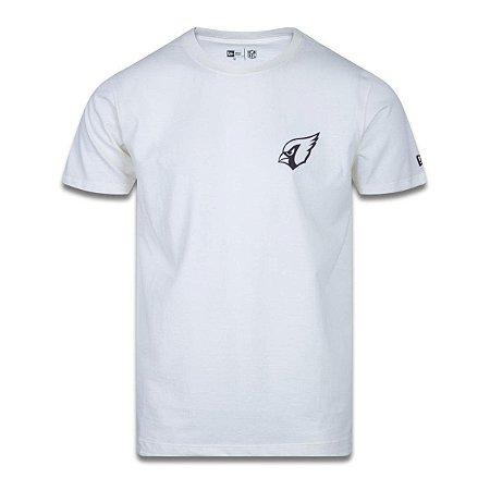 Camiseta New Era Arizona Cardinals Street Ticket Off White