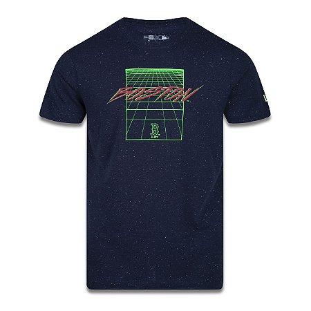 Camiseta New Era Boston Red Sox MLB Space Dimension