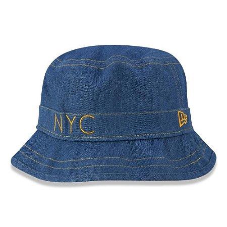 Chapéu Bucket New Era Original Denim NYC Jeans