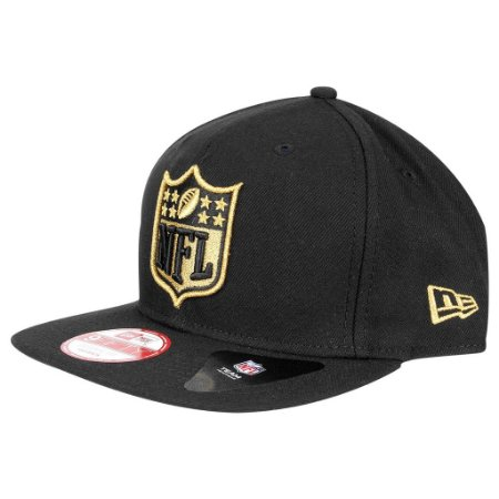 Boné NFL Basic Logo 950 Golden Dourado Snapback - New Era