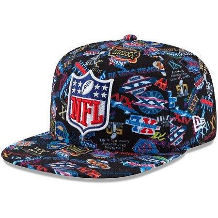 Boné NFL Combo Super Bowl 950 Snapback - New Era