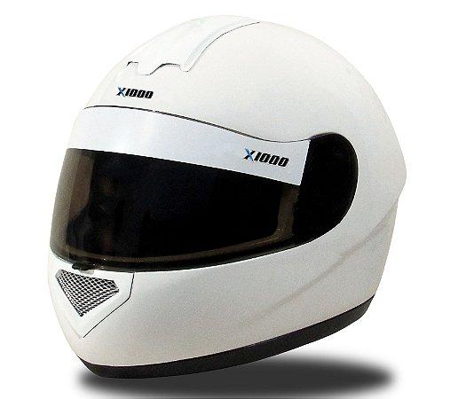 Capacete para Kart X1000 XK - Branco