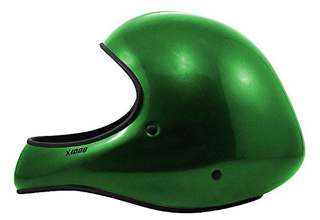 Capacete X1000 Vôo Livre Verde