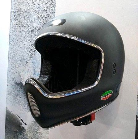 Capacete Moto X - X1000 Bieffe Preto fosco