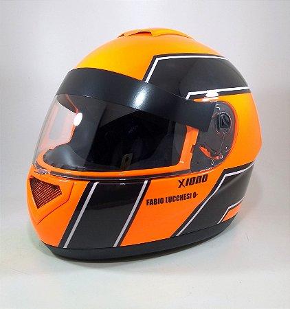 Combo- capacete XK para kart + sua personalização em aerografia