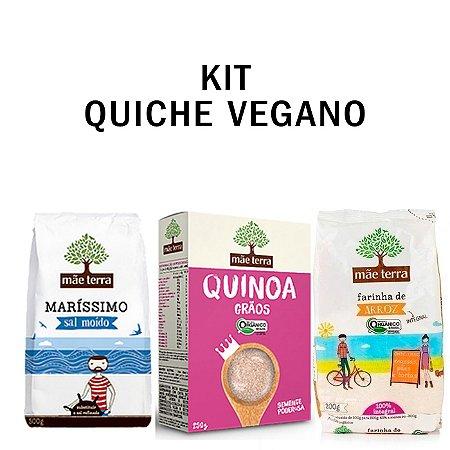 Kit Cozinha Mãe Terra  - (Quinoa em Grãos Orgânico + Farinha de Aveia Integral + Sal Marinho)