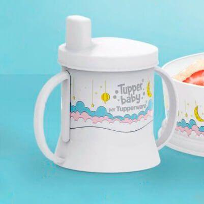Tupperware Copinho com Bico e alça Tupper Baby 150 ml