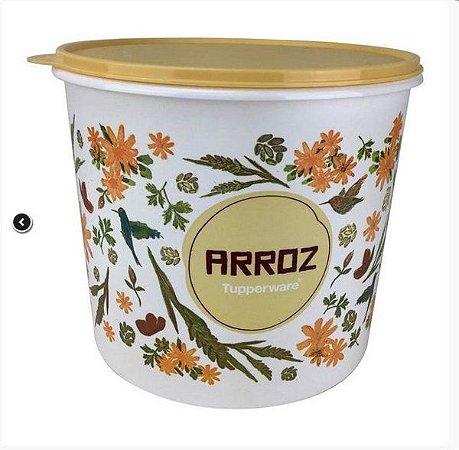 Tupperware Tupper Caixa para Arroz Floral 5 Kgs Plus