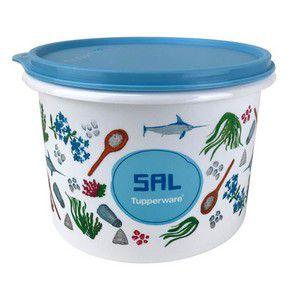 Tupperware Tupper Caixa para Sal Linha Floral 1,3 kgs