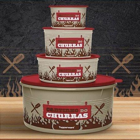 Tupperware Kit Churrasco 4 Peças