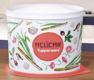 Tupperware Tupper Caixa para Açúcar Floral 5 Kgs