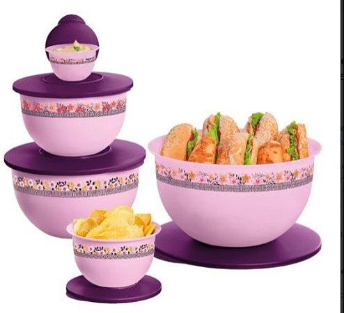 Tupperware Kit Tigelas Murano 5 Peças