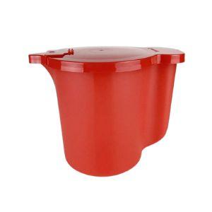 Tupperware Jarra para aquecer no mIcro-ondas Vermelha 1 L