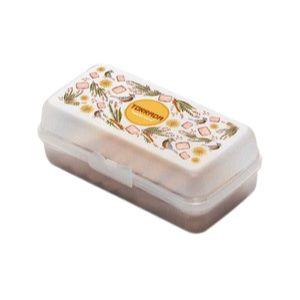 Tupperware Porta Torrada Floral