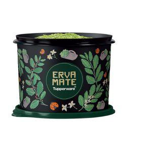 Tupperware Caixa Erva Mate Floral 900g