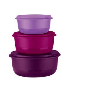 Tupperware Kit Tigelas Batedeiras Geração II - 3 peças