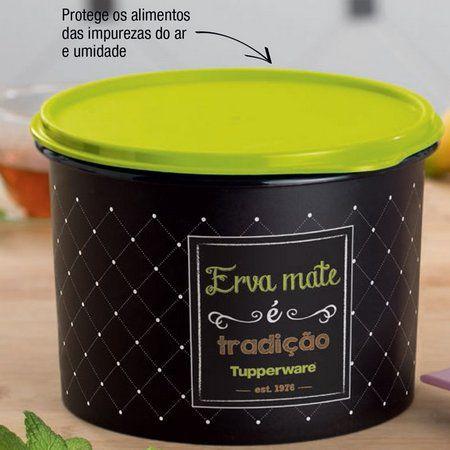 Tupperware Caixa Erva Mate Bistro 600g