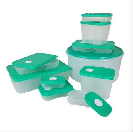 Freezertime Tupperware KIt 10 peças